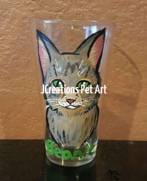 Beanie-Pint-Glass